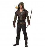 MABOOBIE - Mens Robin Hood Prince Of Thieves Peter Pan Fancy Dress Costume