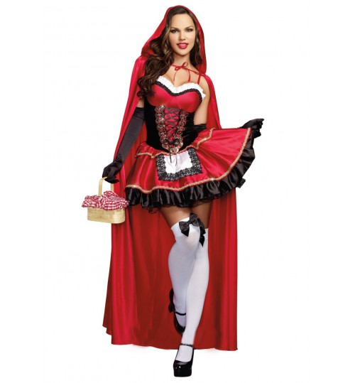 MABOOBIE - Red Riding Hood Costume Fancy Hallowen Dressing Up Fantasia Feminina Christmas Costumes