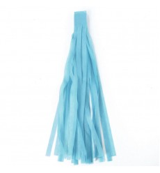 AURELIA - Tissue Garlands Bunting Ballroom Paper Tassels  Party Decor Blue