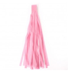 AURELIA - Tissue Garlands Bunting Ballroom Paper Tassels  Party Decor Pink