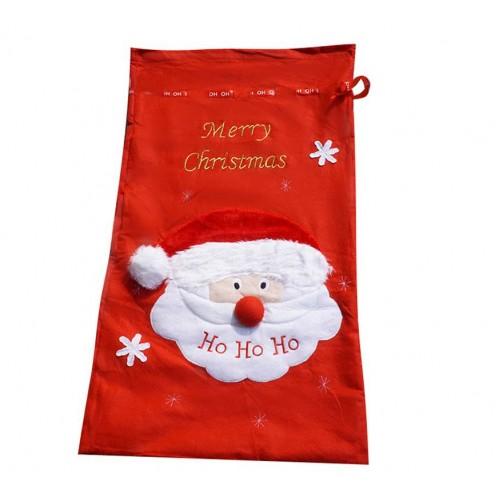Oem large santa sack father christmas gift bag xmas