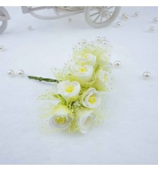 ENDLESS LOVE - Real Touch Mini 2cm Eva Foam Artificial Flowers For Wedding Decoration