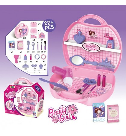 OEM - Plastic Make Up Set Toy Lovely Dresser Toys For Girl S Gift